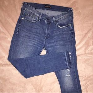 Express jean size 6